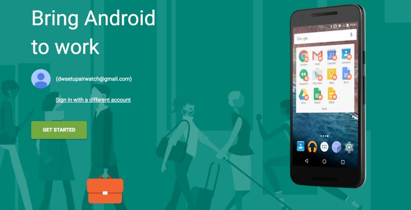 Android Enterprise with AirWatch